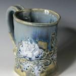 Blue Green 12 oz Mug